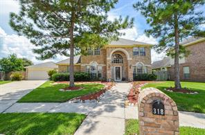 Houston Home at 318 Saunter Drive Stafford , TX , 77477-5493 For Sale
