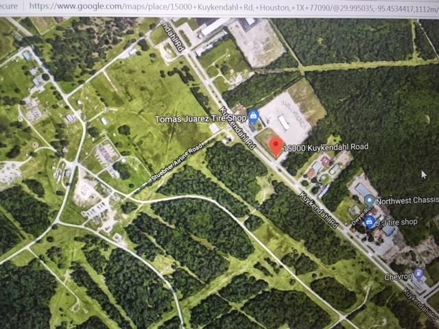 Get yourself a piece of this fast growing area before it is too late. More than 3 acres of unrestricted Ideal Building site  for multifamily,Retail, Office, Warehouse, in this highly active area with only 3 miles to Interstate 45 and 15 minutes to Woodlands. Seller will consider leasing the property .