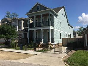 Houston Home at 704A 25th Street Houston , TX , 77008-2312 For Sale