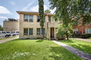 Houston Home at 1805 Sul Ross Street Houston , TX , 77098-2609 For Sale