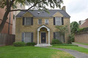 Houston Home at 2250 Sul Ross Street Houston , TX , 77098-2420 For Sale