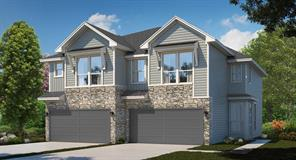 "Lennar Homes Urban Villas Collection ""Laurel II"" Plan - Elevation ""E"" in Gorgeous Grand Central Park! This Beautiful Home has a Stone Accent Elevation & Front Porch with Wrought Iron Fence & Gate!"