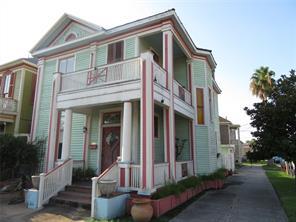 Houston Home at 1327 Market Street Galveston , TX , 77550-2624 For Sale