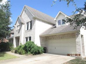 Houston Home at 20806 Mansfield Bay Lane Richmond , TX , 77407-2677 For Sale