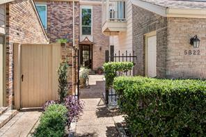 Houston Home at 5822 Valley Forge Drive 106 Houston , TX , 77057-2241 For Sale