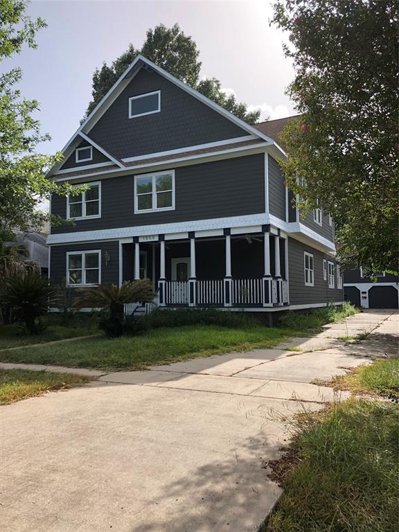 Victorian home in the heart of the Heights.  Property needs some TLC.  Additional garage apt w/kitchen above 3 car garage.  Buyer to verify all information.  Property is as-is, motivated seller, please bring all offers.