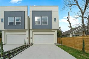Houston Home at 3807 A Billingsley Street Houston                           , TX                           , 77009 For Sale