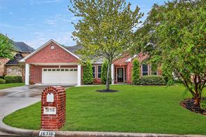 Houston Home at 16318 Cochet Spring Drive Spring , TX , 77379-2997 For Sale