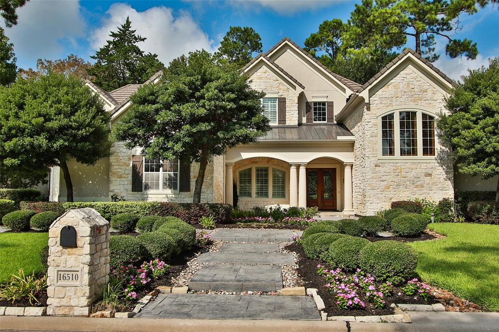 Gorgeous two-story, Stucco and Stone home located on the golf course and in the exclusive gated section of Northgate Forest. Over $80,000 in recent updates! Travertine flooring (07/18) entry, Formal dining and Formal living room; Hardwood flooring in kitchen and family room. Diamond-pattered Berber carpet (07/18) in master bedroom and master closet, Berber carpet (07/18) in secondary bedrooms and Media room on the 2nd floor. Gourmet kitchen with island, granite counters, built-in paneled refrigerator and large walk-in pantry. Wine room w/ WhisperKool cooling system. Large master bathroom w/ Slate flooring, Granite couter-tops, Jacuzzi tub and large walk-in shower. Huge master closet with custom built-ins and includes additional room with a cedar ceiling and a storage area. Study upstairs with built-ins, hardwood flooring in den with built-ins and french doors that lead to the balcony with an amazing view of the golf course. Generac generator and extra refrigerator in garage included.