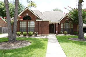 Houston Home at 14323 Hillside Hickory Court Houston , TX , 77062-2162 For Sale