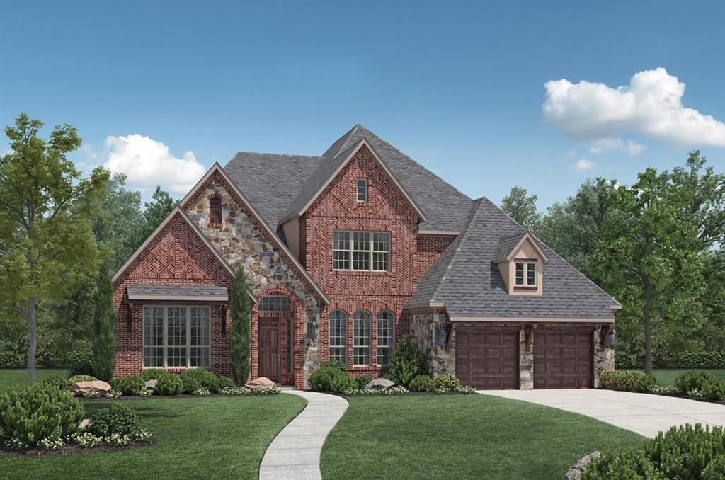 MLS# 46187612 - Built by Toll Brothers, Inc. - November completion! ~ This sprawling 5 bedroom 5.5 bath estate home includes luxury finishes throughout.  The grand entry with soaring ceiling and formal dining room will impress your visitors. A private study with french doors and elegant curved staircase complete the foyer. Guests will appreciate the separate quarters with full bath and walk-in closet.  The two-story great room with fireplace and window display is perfectly located in an open concept to the kitchen.  Well appointed with breakfast area and island the kitchen will be the gathering place.  The divine master includes a spa-like en-suite with dual vanities, centralized soaking tub and walk-through shower and a large walk-in closet.  Take the service stairs off the kitchen to the game room or media room.  Three secondary bedrooms with full baths and walk-in closets complete the second floor.