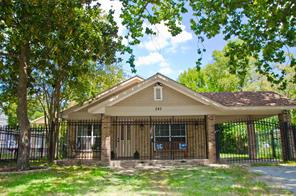 243 Neyland, Houston TX 77022
