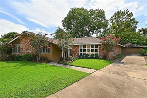 Houston Home at 9106 Riddlewood Lane Houston , TX , 77025 For Sale
