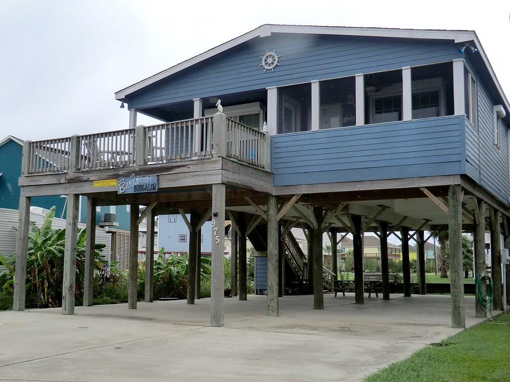 This has the best beach view you can get for the money! Watch the waves crash on the shore down the