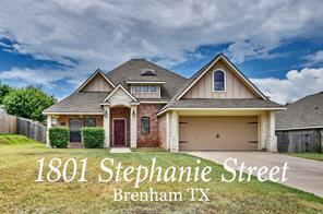 1801 stephanie street, brenham, TX 77833
