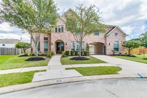 Houston Home at 2111 Asbury Court Pearland , TX , 77581-2295 For Sale