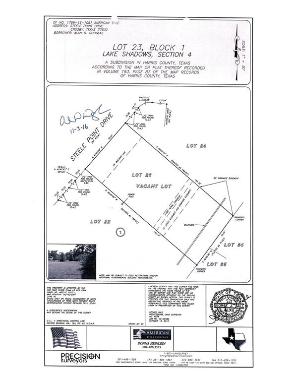 Map Of Crosby Tx 77532.18226 Steele Point Drive Crosby 77532 Greenwood King Properties