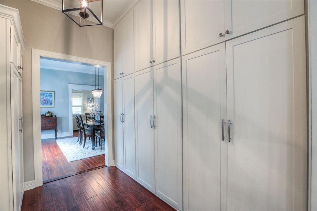Ready to take up canning? You'll have plenty of room with the pantry and closet space off the kitchen.