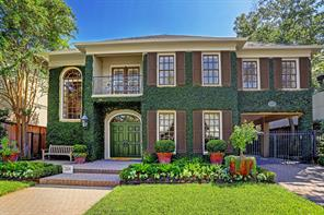 Houston Home at 2409 Dickey Place Houston , TX , 77019-6304 For Sale