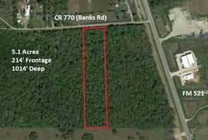 0 Banks Road, Rosharon, TX, 77583