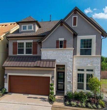 REDUCED! NEW Weekley Homes Wickham plan. Kit w/cabinets to clg. Lg island/bar, granite counters, 5-brnr gas c-top, sep oven/micro w/updraft vent hd. Big Living w/ big windows & high clgs. Dining overlooks beautifully landscaped rear yard - maintained by HOA! Big Mstr w/treyed clg, big windows. Mstr bath has dual sinks, granite counters, big walk-in Shower w/rain shower head & frameless encl. HUGE walk-in closet w/built in chest! Lg 2ndary bedrms! Gamerm at 3rd fl. Tankless hot water heater. Heat/cool usage GUARANTEED 1st 3 years!  Large home site!