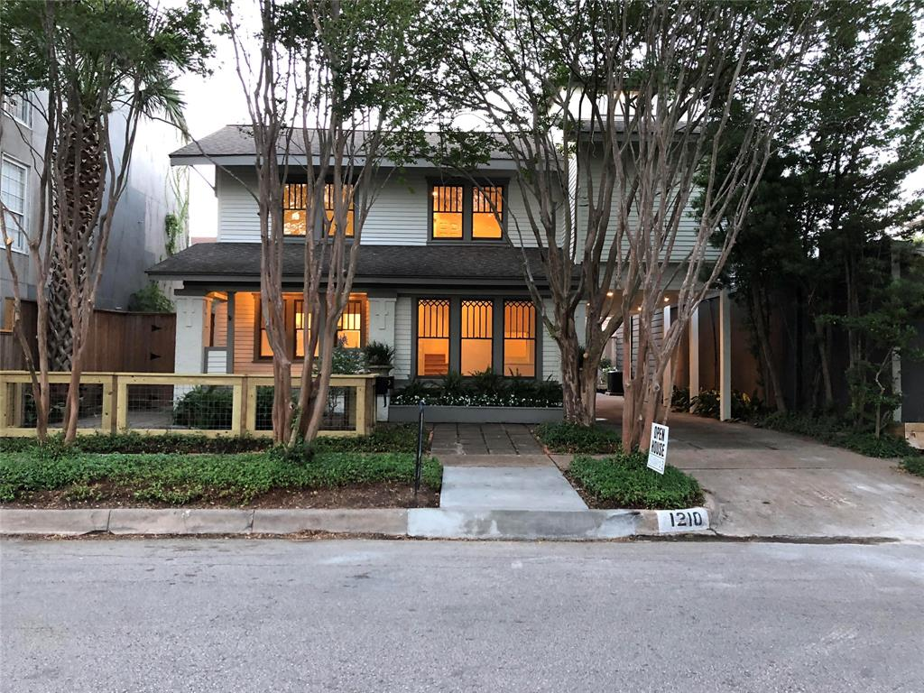 This beautiful classic Montrose home was extensively remodeled in 2018 and is ready for move-in! Lots of natural light throughout. Completely new kitchen with honed granite counters, large farmhouse sink, breakfast bar and stainless steel appliances, including Viking Professional double ovens. Upstairs are 3-4 bedrooms, including master with expansive closet and new master bath with deep soaking tub. Secondary bedrooms have access to the remodeled hall bathroom with a white subway-tiled shower and window for natural light. Porte-cochere leads to expansive back patio area perfect for grilling, entertaining or playing. Charming fenced patio welcomes guests to spacious front porch. Great location with proximity to downtown, Museum District, Rice University, Medical Center and Greenway Plaza. Walk to restaurants and shopping. Extra parking in back. Roommates/shares okay.