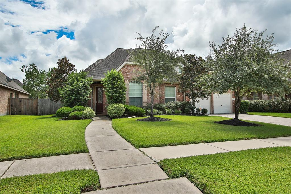 You'll love this stunning 1.5 story home in the highly sought after Master Planned Community of Spring Trails. Recently Added in Aug 2018 wood look tile downstairs and stainless appliances in kitchen. This 4 bedroom, 3 1/2 bathroom home with a 2 stall garage will give you 3069 sq ft of generous space to move about. The master suite includes a beautiful bay window, and the luxurious master bath features double sinks, jetted tub and separate shower. Gourmet Kitchen features Stainless Appliances, Granite Countertops, Large Island and spacious breakfast area and Wood Tile throughout. The upstairs gameroom could be used as an extra bedroom, craft room, or man cave. Also, be sure to check out the fantastic hidden bonus room in the hall closet! Huge backyard with large storage shed or workshop. Just minutes from The Woodlands! Easy on Easy off 99 Grand parkway. Conroe ISD. ***Did Not Flood During Harvey***