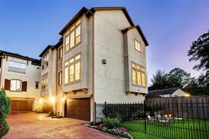 Houston Home at 1607 Haddon Street C Houston                           , TX                           , 77006-1068 For Sale