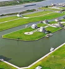 Houston Home at 1804 Laguna Harbor Cove Boulevard Port Bolivar , TX , 77650 For Sale
