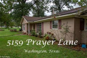 5159 Prayer Lane, Washington, TX, 77880