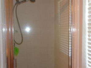 jetted tub and separate  shower in master