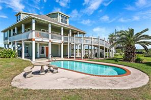 Houston Home at 979 Rancho Carribe Drive Crystal Beach , TX , 77650 For Sale