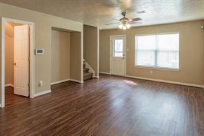 Lots of light in this Den/Family Room AND-no carpet!