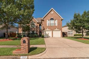Houston Home at 2935 Regata Run Drive Friendswood , TX , 77546-7431 For Sale