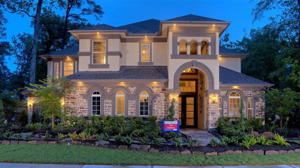 MLS# 63901798 - Built by Taylor Morrison. Ready Now! ~ Simply stunning is the best way to describe this home! Walking in through the 8' double front doors you see the Study and Formal Dining off the foyer. Two story family room with corner fireplace and large windows with view to back yard patio with an outdoor kitchen. The family room spills into the fabulous open kitchen that features a large Island with plenty of room for entertaining. An y chef would love to call this kitchen home! Huge master bedroom, his & her closets and dual vanities. The oversized shower features two shower heads and body jets for those hard days at the office or gym. Upstairs features a game room, a theatre room for you movie buffs and 2 bedrooms and bath 3. This masterpiece also includes a 2nd master suite upstairs!