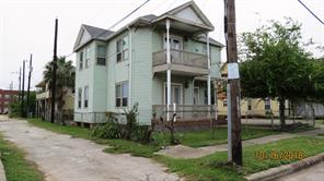 Houston Home at 811 28th Street A Galveston , TX , 77550-2122 For Sale