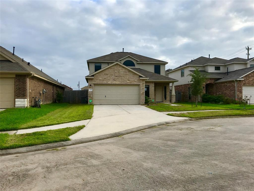 WOW, gently used 3 bedroom,  2.5 bath home with low maintenance yard. Large game-room upstairs overlooking the spacious living area with beautiful railing/balusters. Conveniently located on the cul-de-sac with easy access to Sam Houston Toll Road, Hwy 90, I-10.