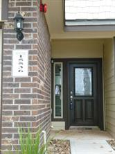 Front entrance to Townhome