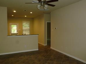 Family Room overlooks Kitchen