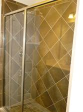 5 ft. Walk-In Master Shower with Glass Enclosure
