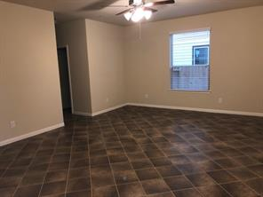Ceramic Tile in Family Room downstairs