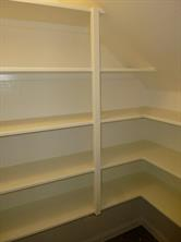 L Shaped Pantry in Kitchen