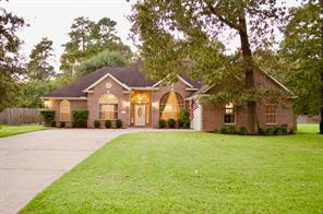 Houston Home at 823 Garrett Drive Magnolia , TX , 77354-1550 For Sale