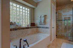 Who wouldn't enjoy getting ready for the day in this bathroom?