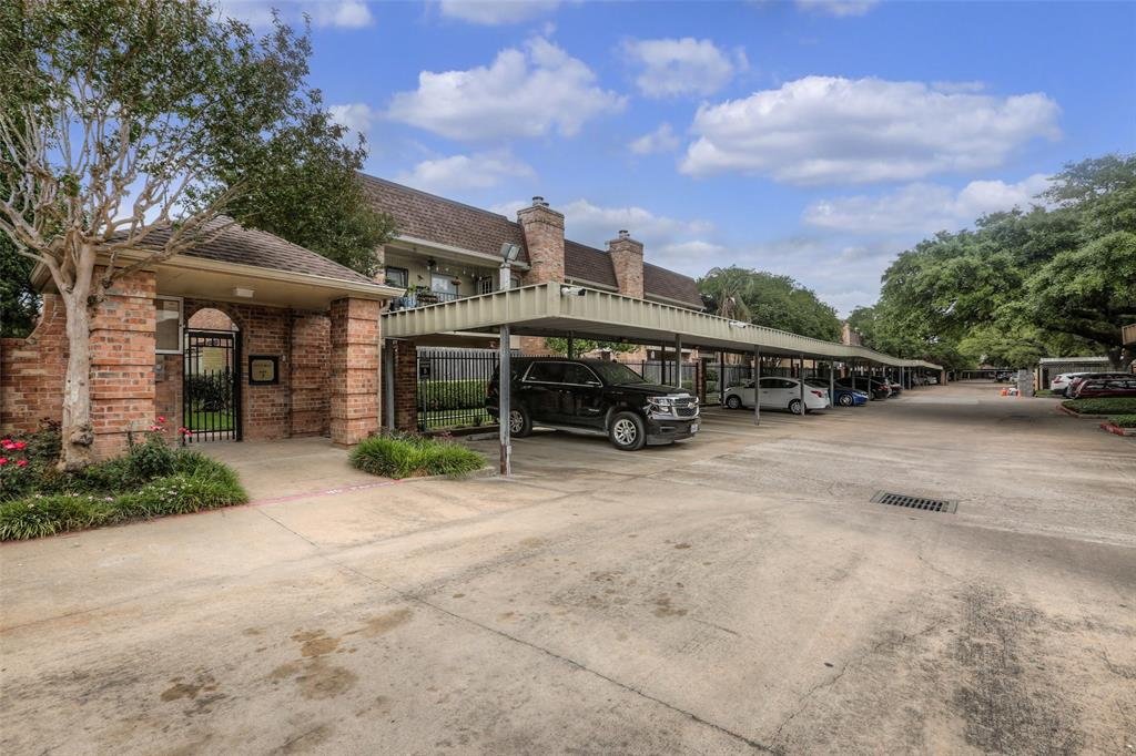 This community features gated entry and covered parking.