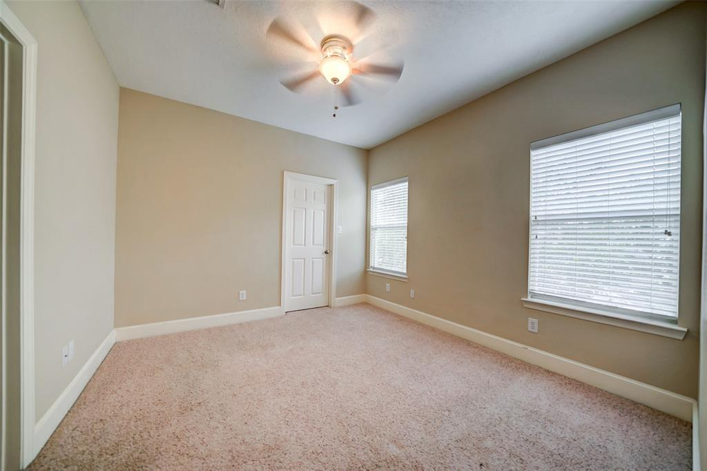 This upstairs bedroom makes for a great guest room.