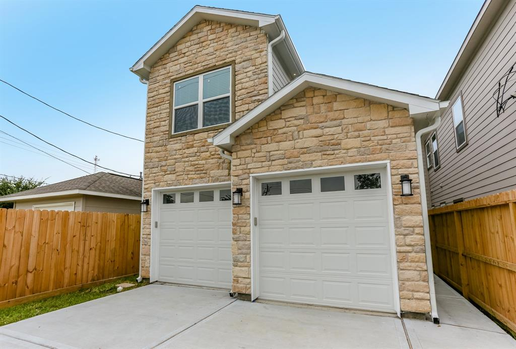 Brand New Construction in the growing Independence Heights Area! This home is built with the finest materials and closest attention to detail. It is minutes away from downtown, Whole Foods 365, Heights eateries and shopping, and easy access to most major freeways. Desired layout of downstairs living and upstairs bedroom.  The ideal two story home with a small backyard and plenty of parking.  This house will go fast due to it being brand new, never lived in, and priced to move quickly!