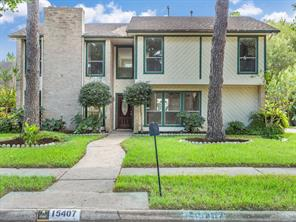 Houston Home at 15407 Windy Cove Drive Houston                           , TX                           , 77095-1909 For Sale