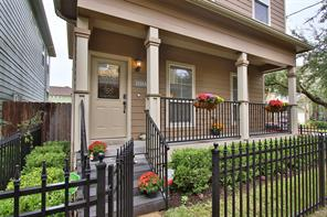 Houston Home at 1110 W 18th Street A Houston , TX , 77008 For Sale