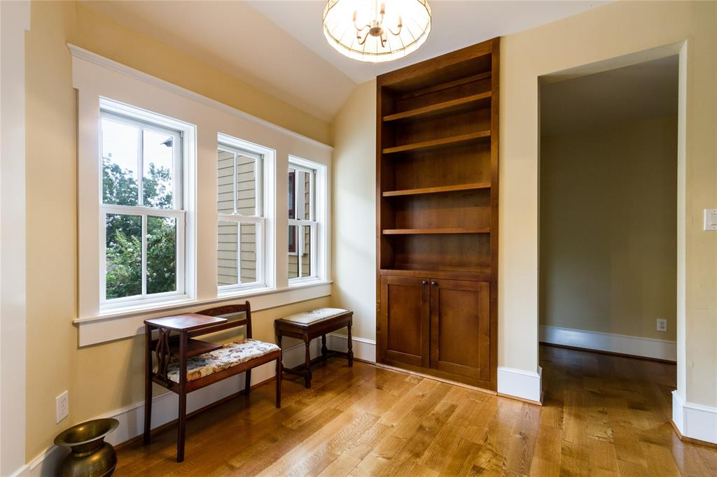 Second floor landing offers anther flexible space.